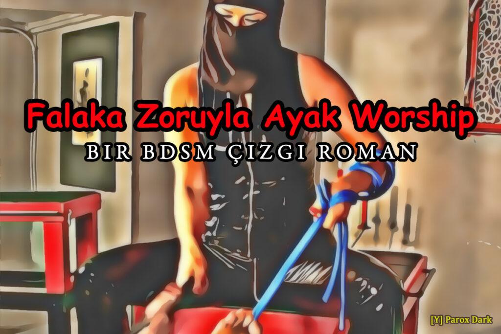 falaka zoruyla ayak worship BDSM çizgi roman
